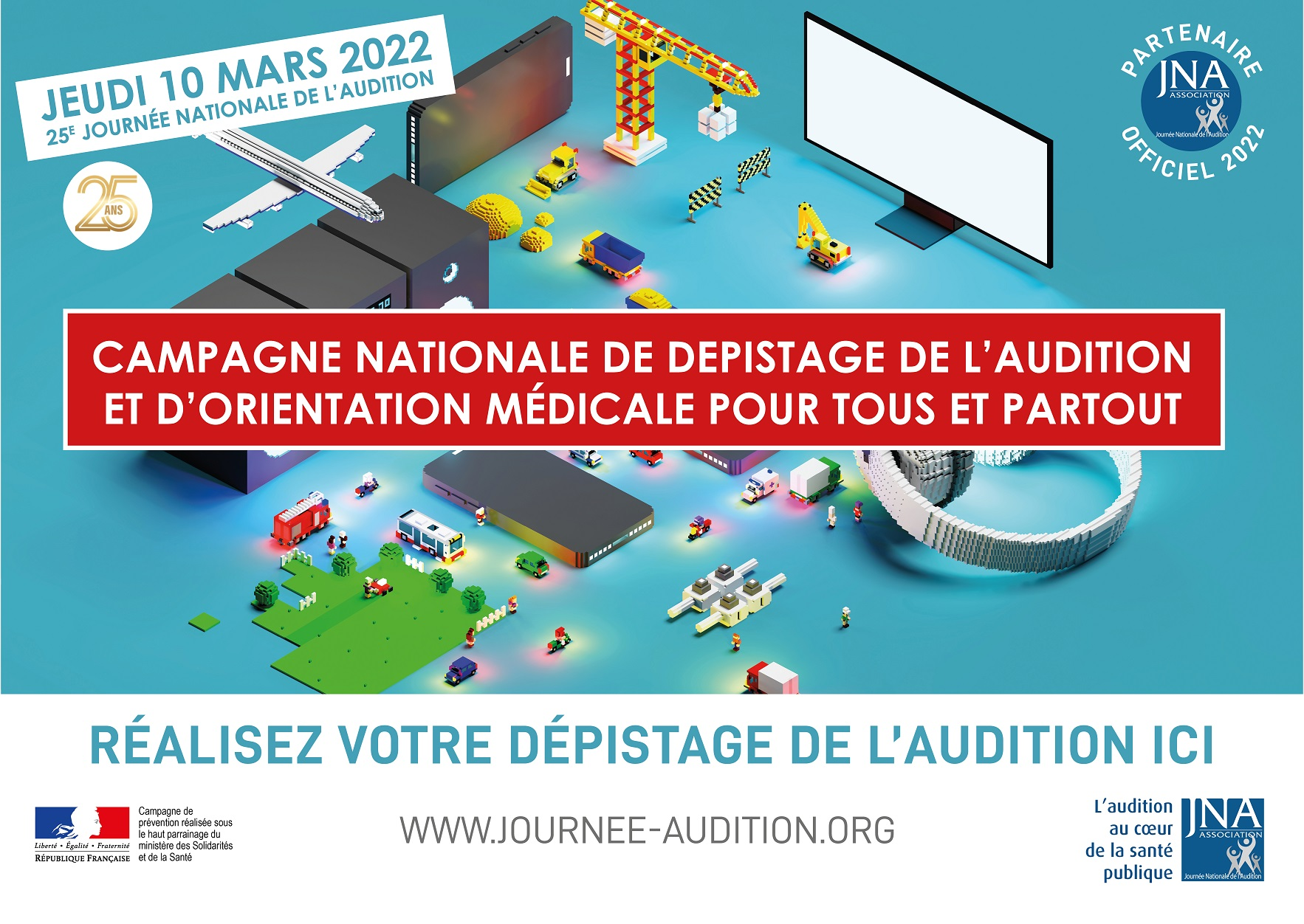 affiche campagne depistages