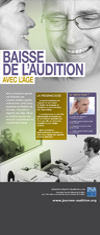 Roll-up Baisse de l'audition
